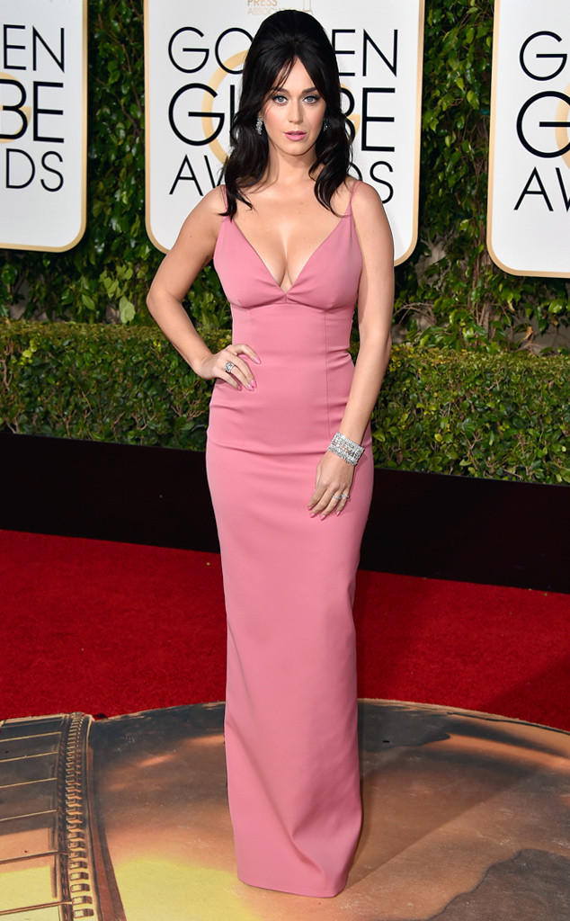 Katy Perry 2016 Golden Globes Fashion